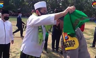 Kapolda Jatim Silaturahmi ke Ponpes Al Amien Prenduan Sumenep Madura.