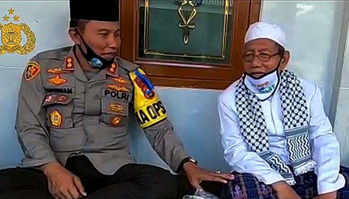 Kapolres Sumenep bersilaturahmi ke Ponpes Al Istikmal Tangguh.