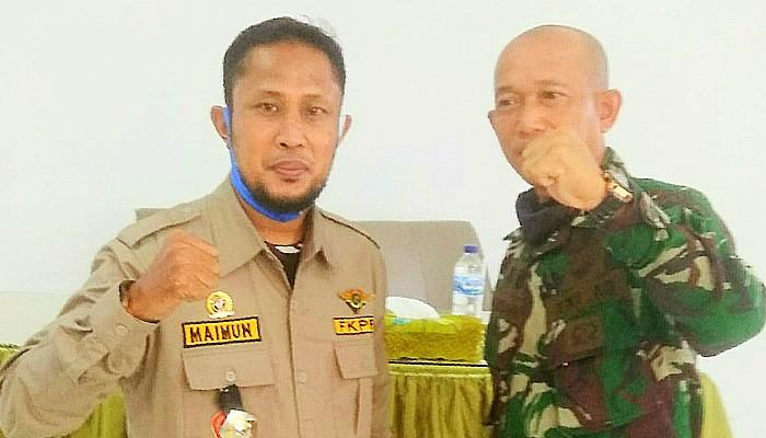 Ketua FKPPI Pidie Jaya Ajak Generasi Muda Bela Negara Sishankamrata