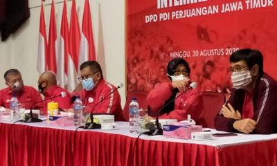 """Cawali Surabaya tak kunjung diumumkan, Hasto bantah """"Tarik Tambang"""" dengan Risma."""