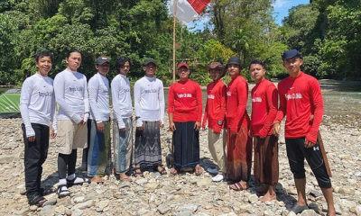 Pemuda Abdya kenalkan sejarah makam pahlawan Teungku Dikila.
