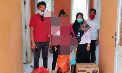 eddy Sitorus santuni perempuan disabilitas korban perkosaan di Nunukan.