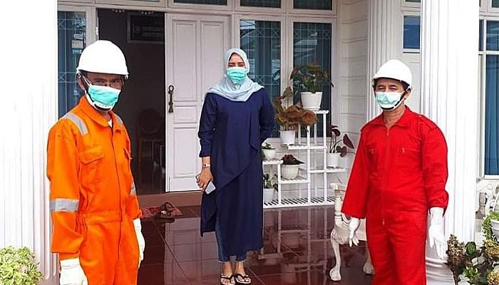 Ada Coronavirus di rumah mantan gubernur Aceh.