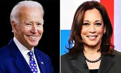 Joe Biden pilih Kamala Harris sebagai pasangannya.