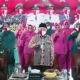 """Polda Jatim gelar launching """"Jatim Bermasker"""" secara virtual."""