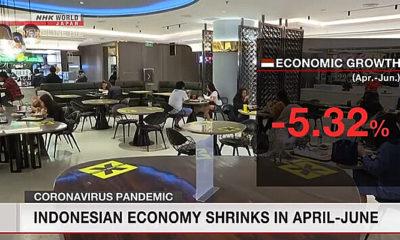 Media asing ramai memberitakan PDB Indonesia anjlok
