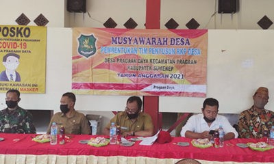Gelar Musdes RKP Desa, Pemdes Pragaan Daya fokus pada RPJMDes.