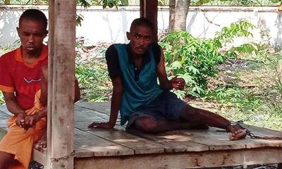 Orang gangguan jiwa dirantai, RSBL Dinas Sosial Jatim kondisinya memprihatinkan.