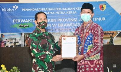 BKKBN Rangkul Kodam Brawijaya, Babinsa jadi garda terdepan dalam pelaksanaan program KB.