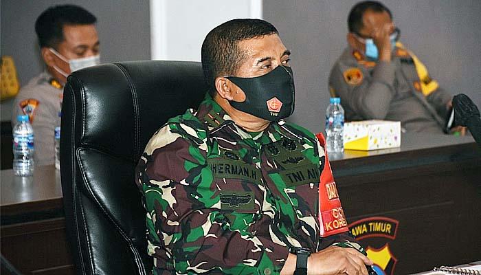 TNI-Polri bahas penegakkan disiplin melalui virtual meeting