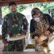 KSAD Ziarah ke Makam Bung Karno saat kunjungan kerjanya di Surabaya.