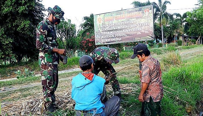 Green Army Exercise dalam latihan menembak senjata berat di Situbondo.
