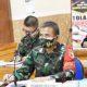 Kepala BNPB dan Danrem 082/CPYJ Bahas Evaluasi Pelaksanaan Penanganan Covid-19.