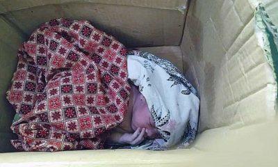 Warga Gapura Sumenep temukan bayi laki-laki terbungkus klardus di belakang puskesmas.