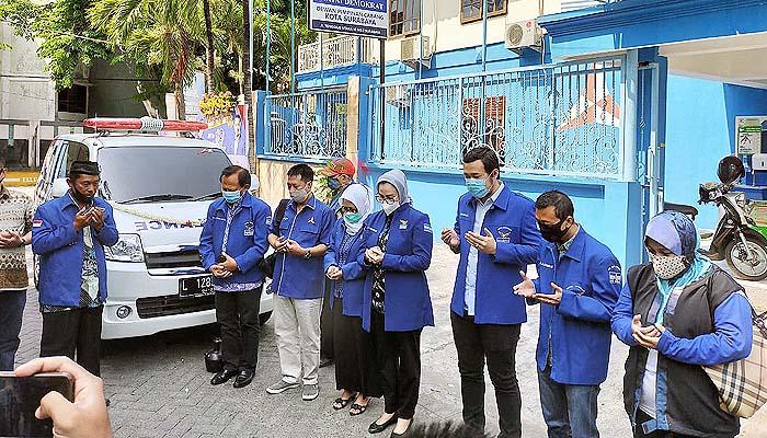 Jelang Pilwali Surabaya, Demokrat Surabaya luncurkan dua kendaraan untuk menunjang operasional