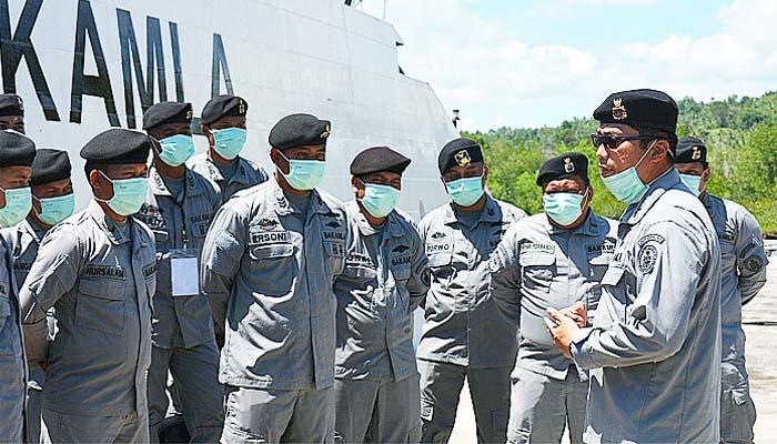 Tingkatkan kapasitas personel, Kamla Zona Maritim Tengah gelar latihan on job training (OJT).