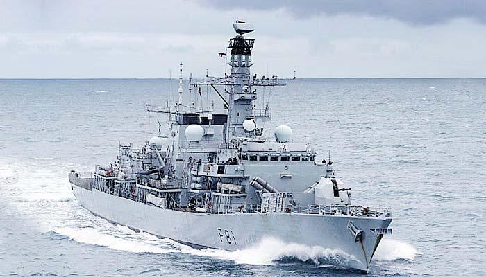 HMS Sutherland Pimpin Latihan Militer NATO di Perairan ZEE Rusia.