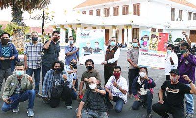 Gandeng wartawan, BPBD Jatim sosialisasi Protokol Covid-19 keliling Jatim.