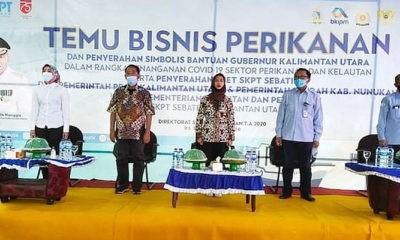 Bupati Nunukan komitmen dukung pembangunan kelautan dan perikanan.