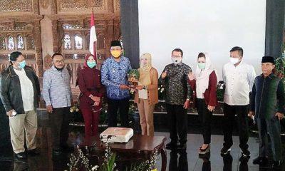 Komisi V DPR RI tinjau proyek infrastruktur Kabupaten Ponorogo.