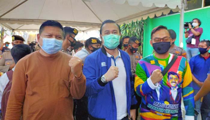 Masyarakat inginkan perubahan, Gerindra dan Demokrat optimis maju menang Pilwali Surabaya.