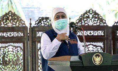 Pandemi Covid-19 tak kunjung turun, Sidoarjo digerojok bantuan ventilator dan masker.