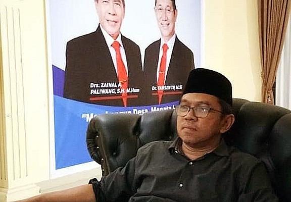 Foto : Ketua Tim Pemenangan Pasangan ZIAP Kabupaten Bulungan, Alwan Saputra