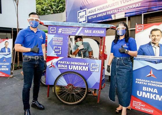 AHY luncurkan Gerakan Nasional Partai Demokrat Bina UMKM