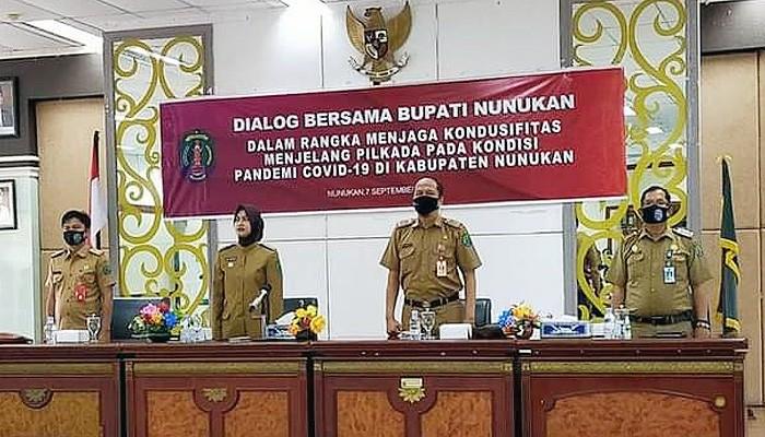 Ketua RT-RW di Nunukan komitmen wujudkan pilkada tanpa hoax.