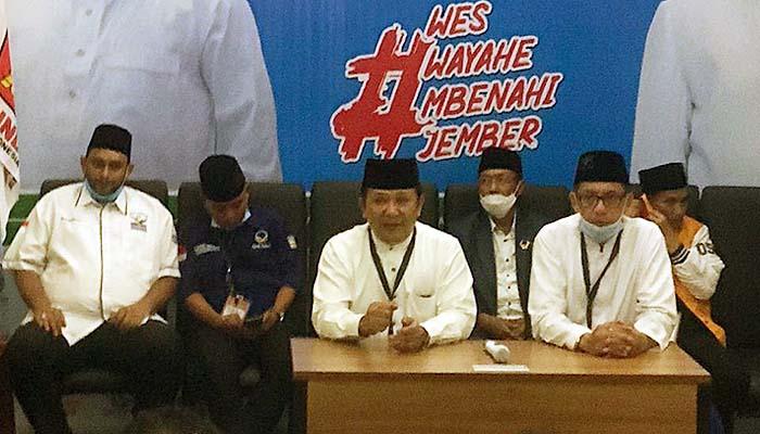 Usung perubahan, Demokrat all out untuk pemenangan pasangan Haji Hendy dan Gus Firjaun di Pilbup kabupaten Jember