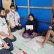 Pihak PLN dan Dinas Sosial Aceh bantu korban tersengat listrik.