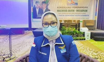 "Genjot sosialisasi pasangan ""Maju"", Demokrat Surabaya optimis menang Pilwali Surabaya."