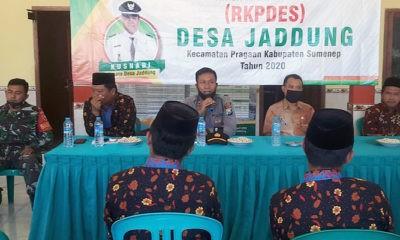 Polisi meminta masyarakat awasi pelaksanaan pembangunan di desa.