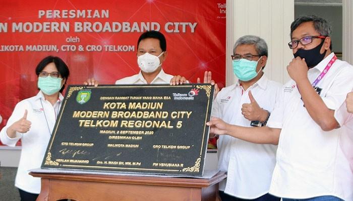Telkom akselerasi digitalisasi Modern City Madiun di tengah pandemi Covid-19