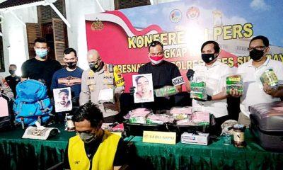 Polrestabes Surabaya tembak mati dua bandar narkoba jaringan lapas.