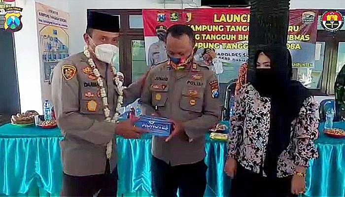 Launching Kampung Tangguh Semeru Desa Tambaangung Tengah, Ambuten, Sumenep.