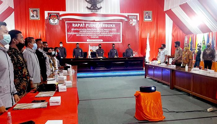 117.763 warga Nunukan ditetapkan dalam DPT Pilkada 2020