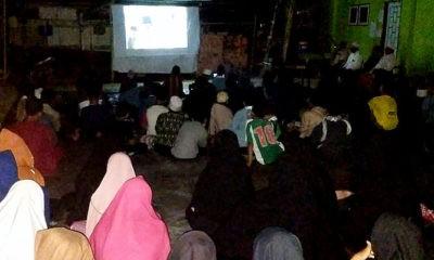 Pupuk Nasionalisme, PCNU Nunukan gelar nobar film Sang Kiai.