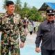 Plt. Bupati Nunukan kunjungi Satgasmar Ambalat XXVI di Sungai Bajau.