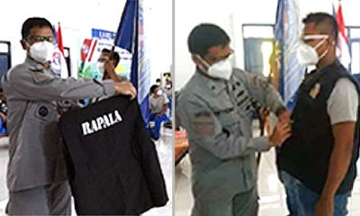 50 Personel Rapala Banyuwangi Resmi dikukuhkan Bakamla RI di Auditorium Balai Pelatihan dan Penyuluhan Perikanan (BPPP) Banyuwangi, Rabu (7/10/20).