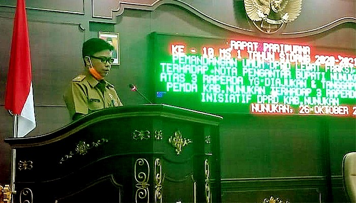DPRD Nunukan Paripurnakan 3 Raperda.