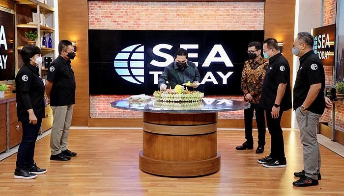 Kanal berita SEA Today siap membawa kabar baik Indonesia mendunia.