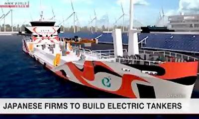 Jepang produksi kapal tanker bertenaga lithium pertama di dunia.