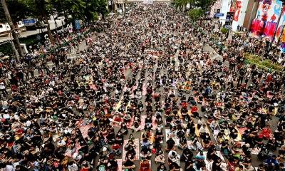PM Thailand menolak mundur, aksi unjuk rasa terus berlanjut.