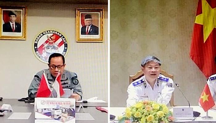Vietnam dan Indonesia bahas kerjasama keamanan dan keselamatan laut.