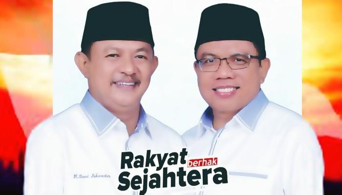 Pasangan DAMAI: Peningkatan Jalan Tani akan memperkuat ekonomi kerakyatan.