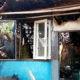 4 rumah habis terbakar di Gang Nangka Rancabali Kelurahan Muka Kecamatan Cianjur, Jawa Barat