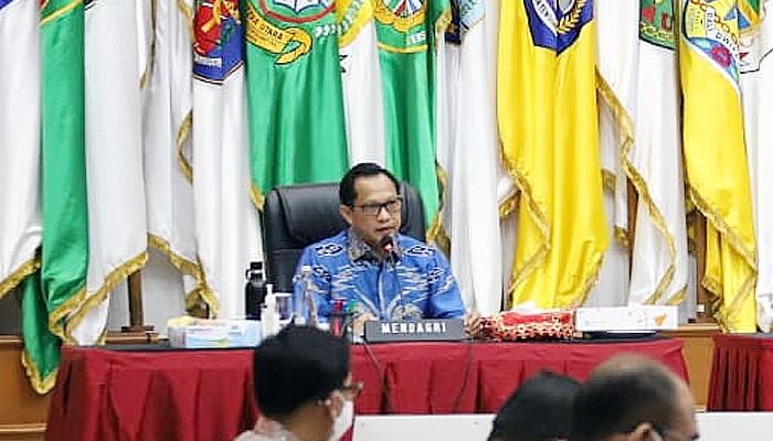 Mendagri gelar Rakor Antisipasi Libur Panjang Maulid Nabi SAW dengan kepala daerah dan forkopimda se-Indonesia.