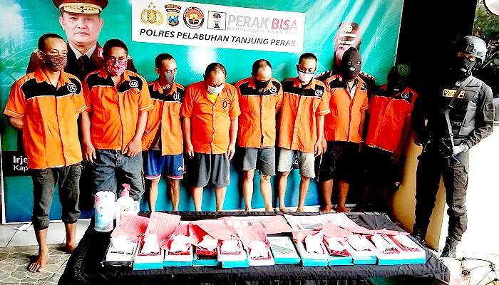 Polres Pelabuhan Tanjung Perak Surabaya Gelar Operasi Narkotika selama dua minggu.