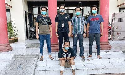 Jatanras Polrestabes Surabaya bekuk pelaku curas spesialis tarik paksa ponsel